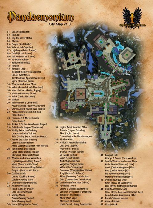 Pandaemonium City detailed map - from: @Impetusium